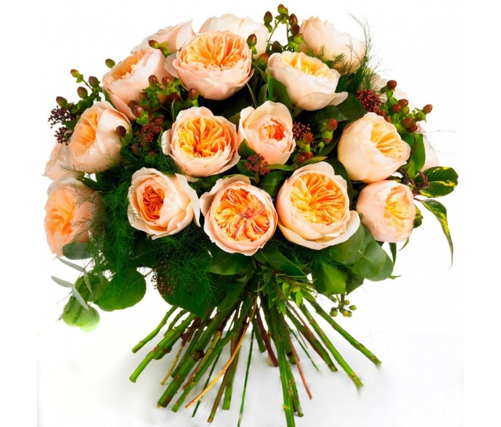 Букет пионовидных роз № 290