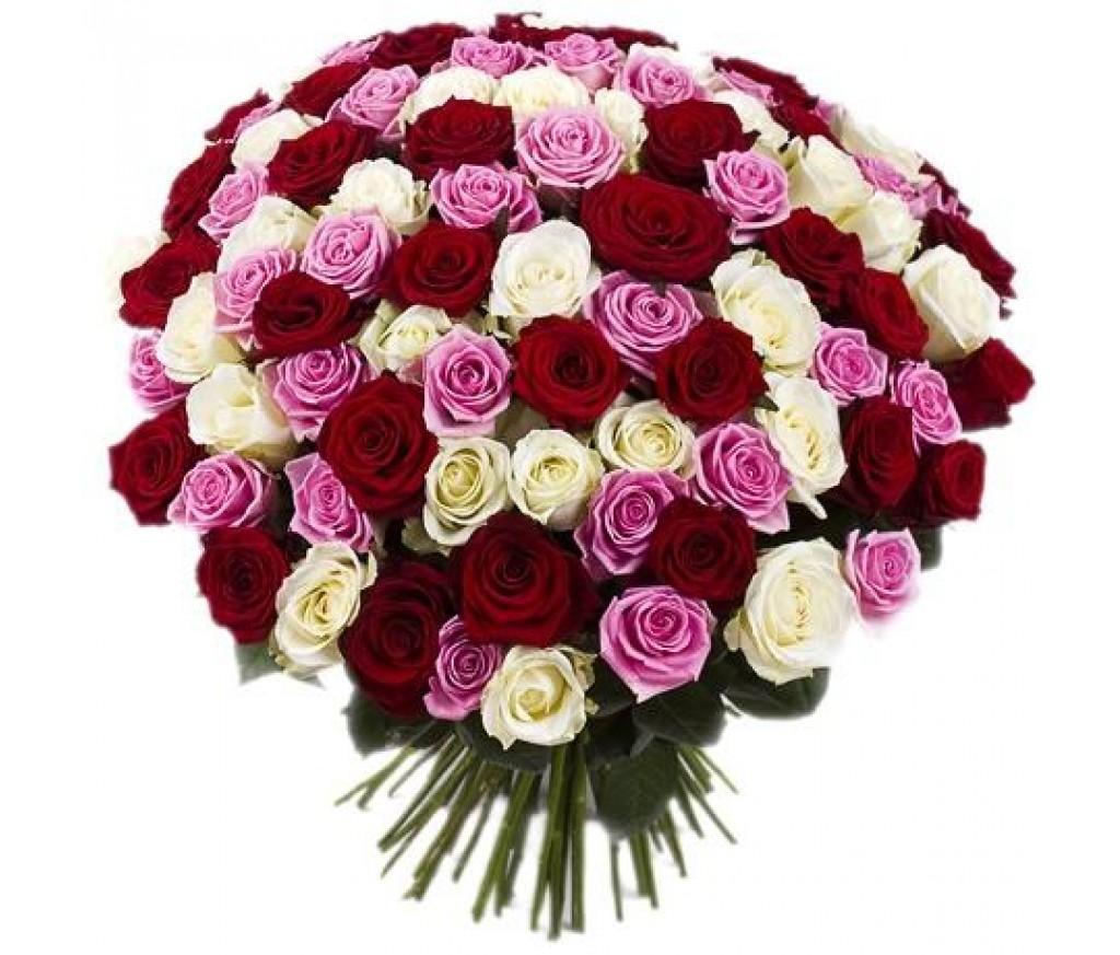 Букет из 101 розы микс №717