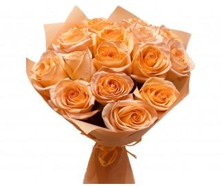 Букет чайных роз № 408