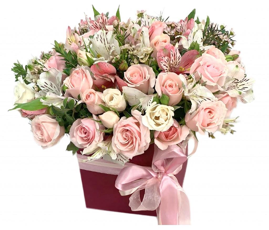 Цветы в Коробке № 379