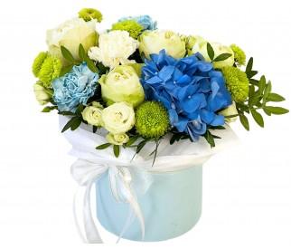 Цветы в коробке № 409