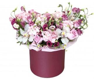 Цветы в коробке № 360