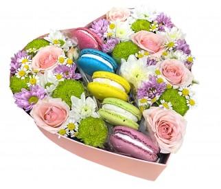Цветы в коробке № 427