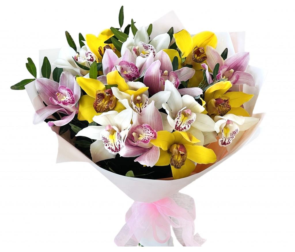 Букет орхидей  № 425