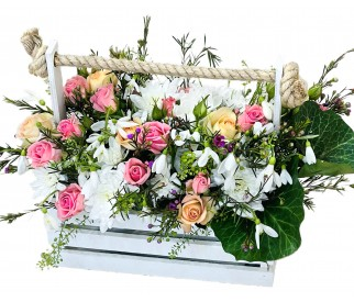 кадка цветов №313