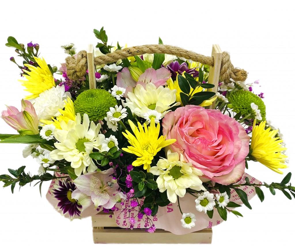 Кадка цветов  №438