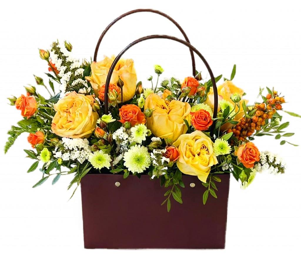 Сумочка  цветов № 449