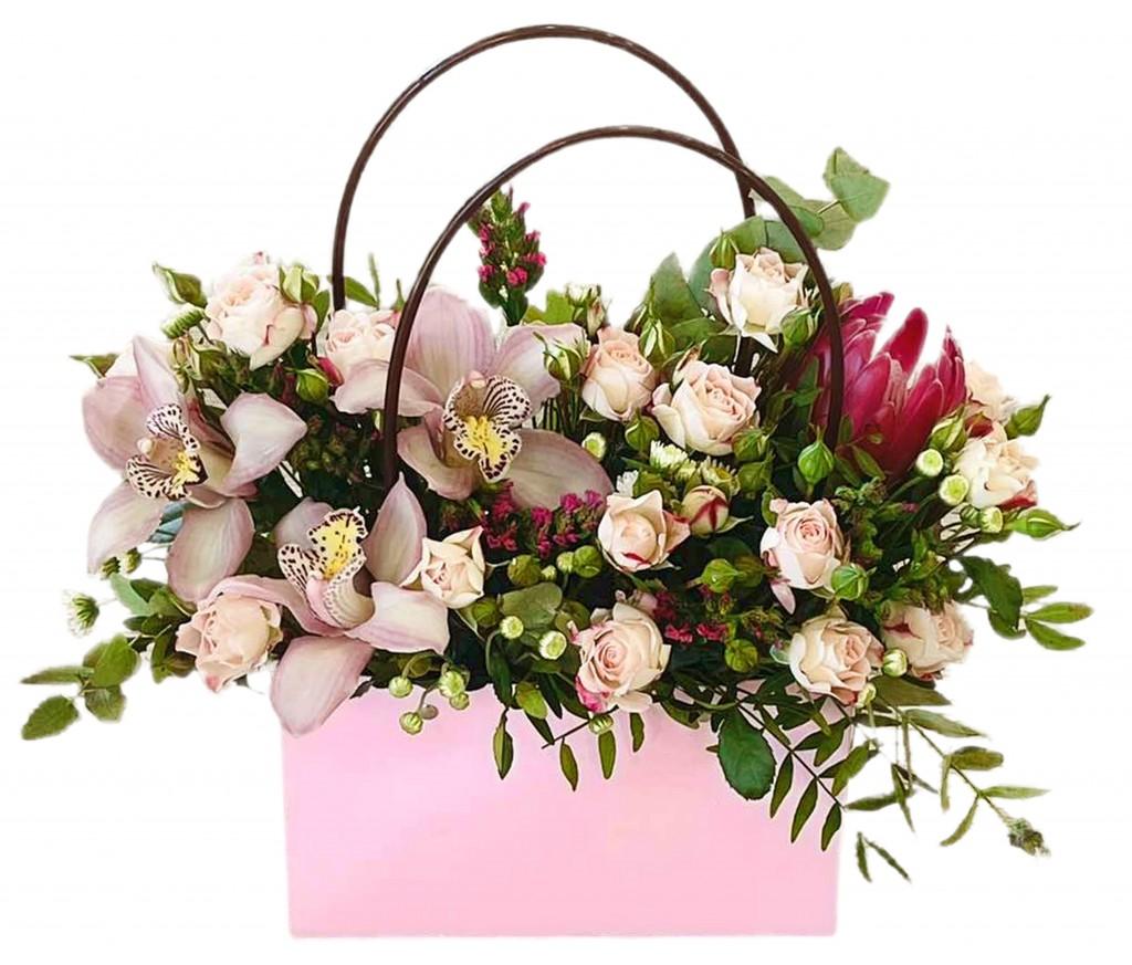 Сумочка  цветов № 451