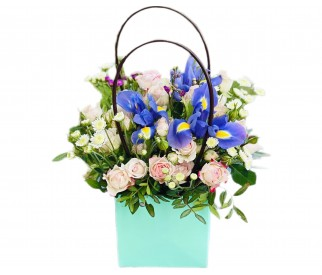 Сумочка  цветов № 452