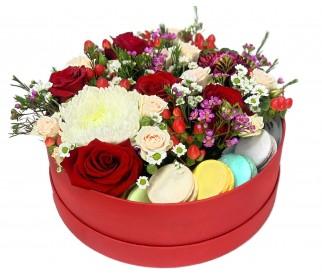 Цветы в коробке №246