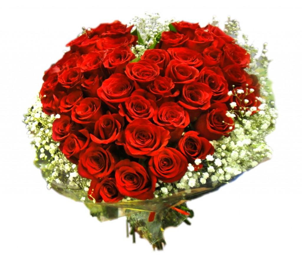 Сердце из роз №230