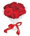 Количество роз в букете: 7