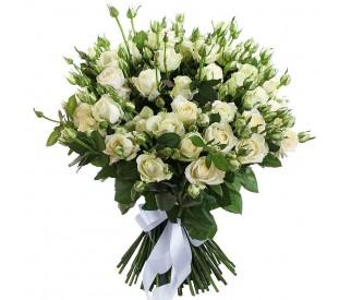 Букет кустовых роз № 008