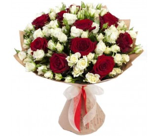 Букет роз № 381
