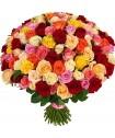 Букет из 51 розы микс №715