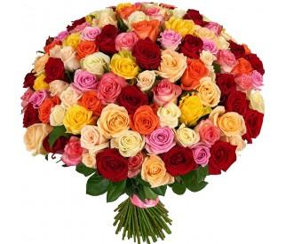 Букет из роз № 001