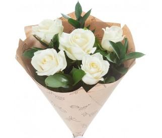 Букет из 5 роз № 369