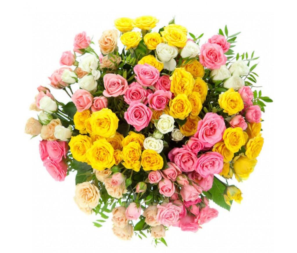Кустовая роза в ассортименте