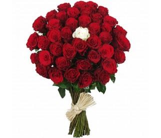 Букет из 31 розы  № 100