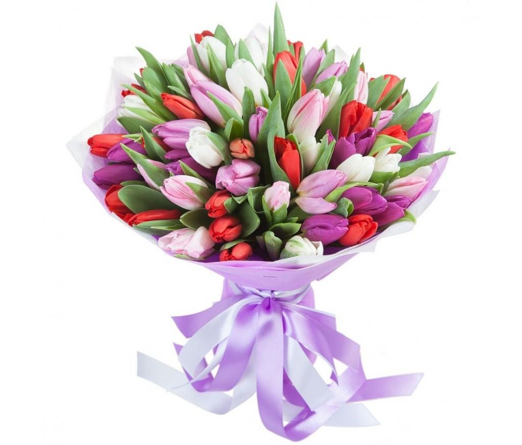 Букет тюльпанов №231